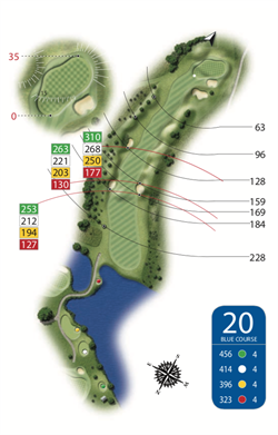 Blue Course - Hole 20