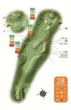 Orange Course - 28th Hole