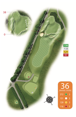 Orange Course - 36th Hole