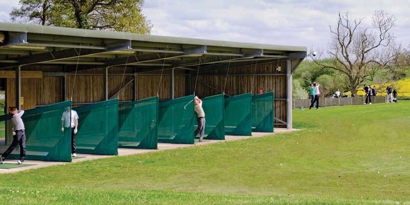 Practice facilities at Cumberwell Park