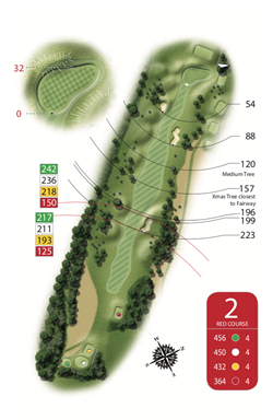Red Course - Hole 2