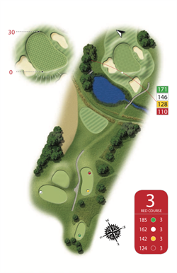 Red Course - Hole 3