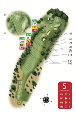 Red Course - Hole 5