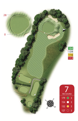 Red Course - Hole 7