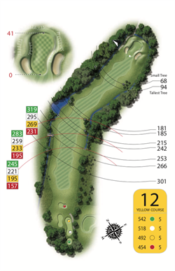 Yellow Course - Hole 12
