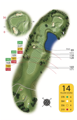 Yellow Course - Hole 14