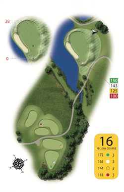 Yellow Course - Hole 16