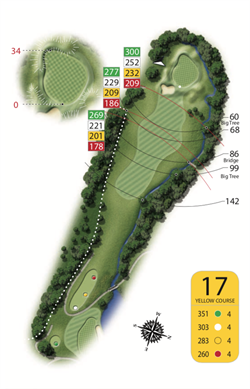 Yellow Course - Hole 17