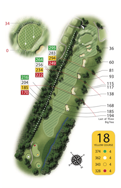 Yellow Course - Hoel 18