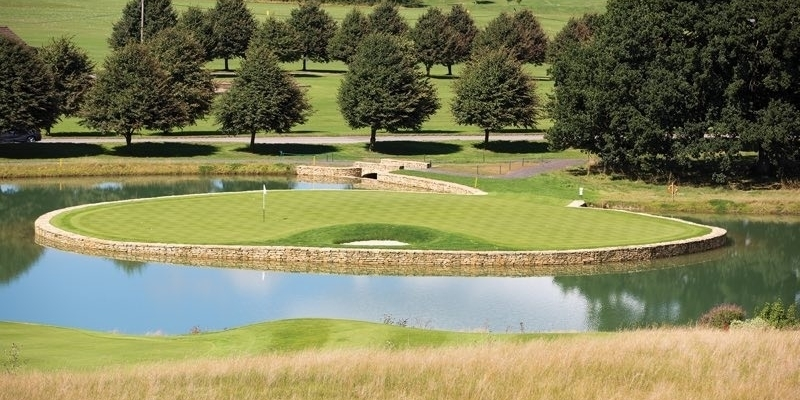 The first 36 hole golf course in Wiltshire