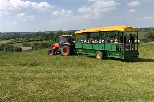 Tractor transport for private parties