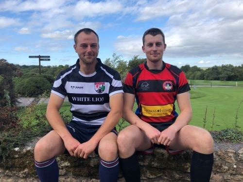 Jon and Sam Rugby Sponsorship